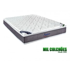 Colchão Toraflex Casal Suntuoso 138x188x33 Molas Ensacadas Pocket Tecido Bambu Pillow Duplo