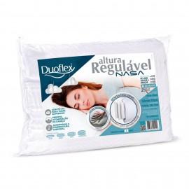 Travesseiro Altura Regulavel Nasa Duoflex